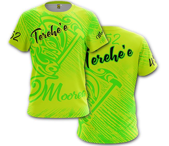 T-shirt Micro Mesh sublimé